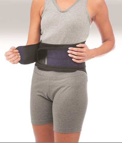 Mueller Lumbar Support - Front view