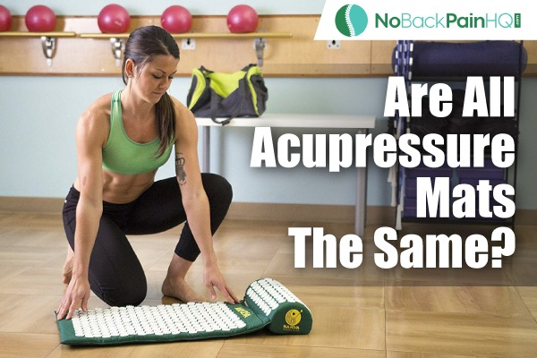 Are All Acupressure Mats The Same